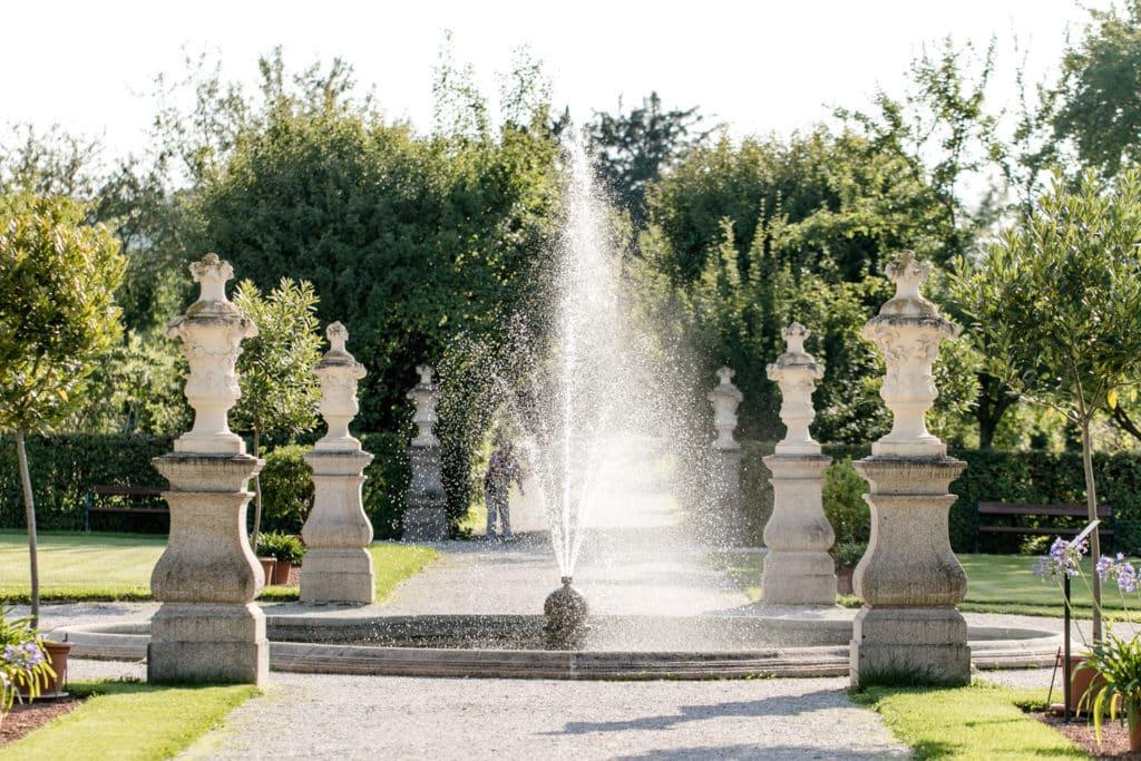 Zu Gast im Hofgarten - Brunnen