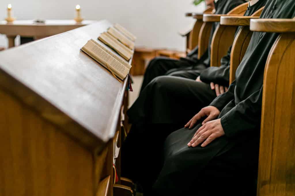 Chorgebet in der Ritterkapelle im Stift Seitenstetten