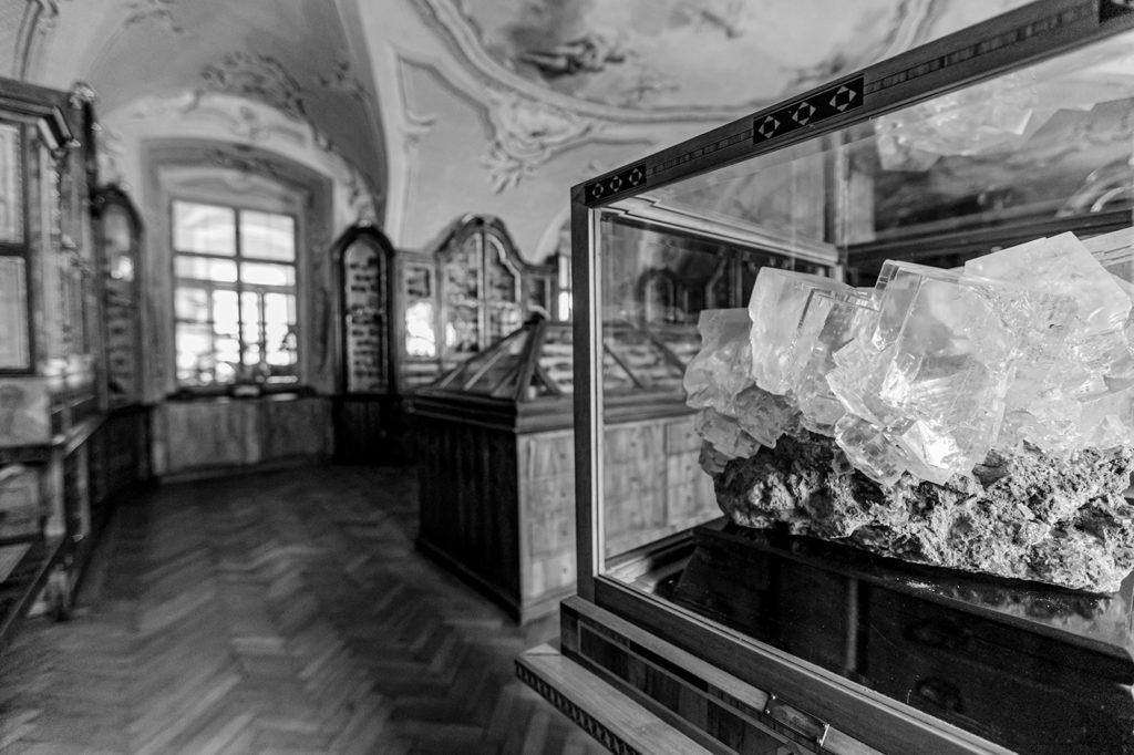 Mineralienkabinett im Stift Seitenstetten