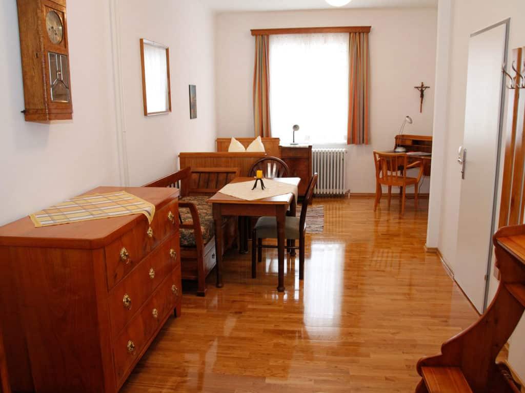 Gästezimmer im Stift Seitenstetten