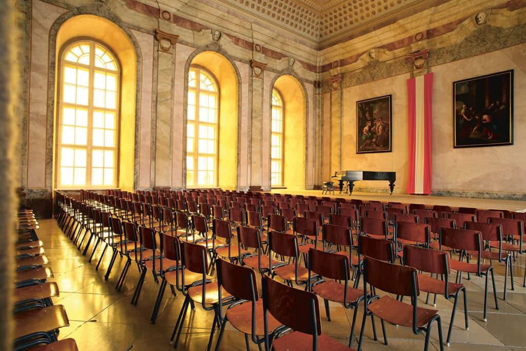 Promulgationssaal Festsaal für Konzerte, etc. für ca. 300 Personen