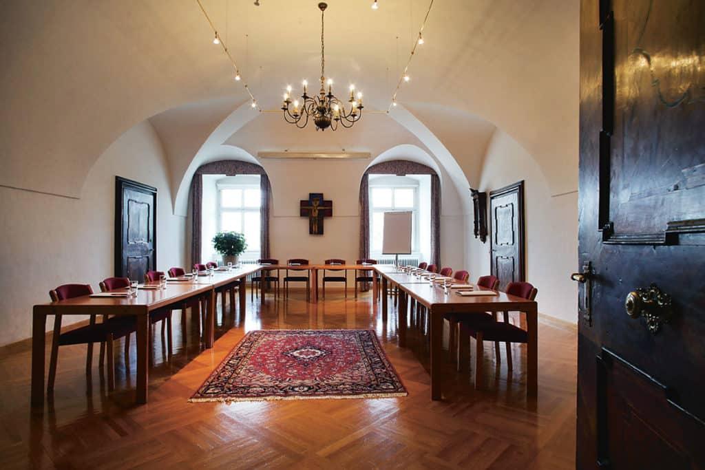 Raum Scholastika Sitzungszimmer für ca. 30 Personen