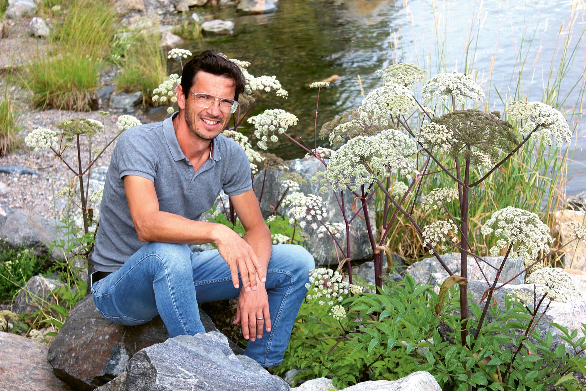 Markus Burkhard - Gartengestalter aus St. Peter, Youtuber und Gartenblogger