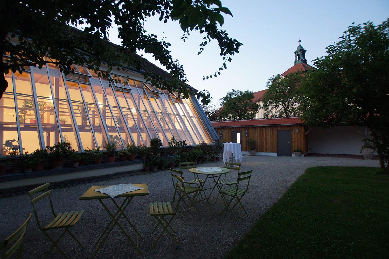 Glashaus Veranstaltungen Hofgarten Seitenstetten