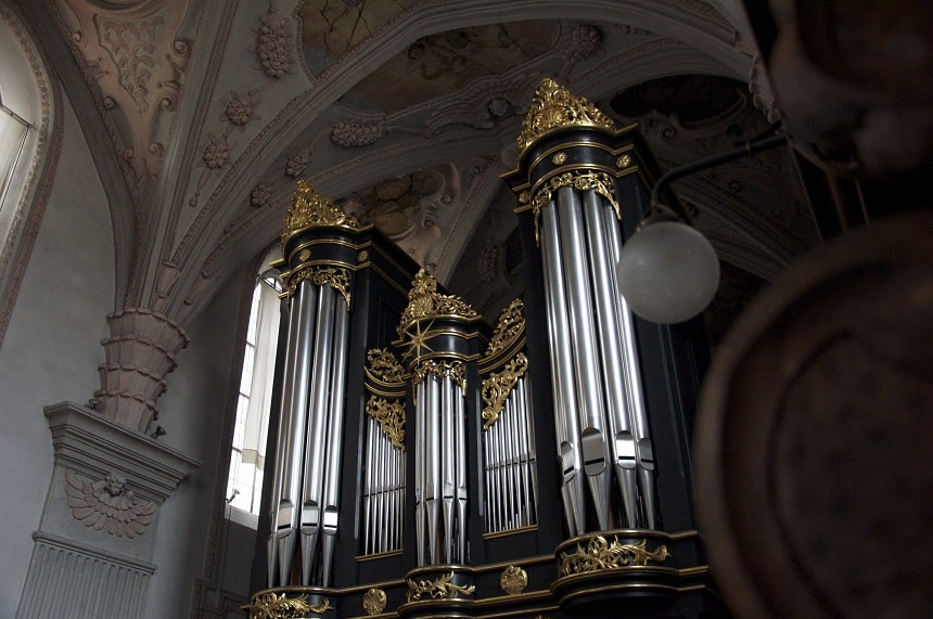 Orgel in der Stiftskirche Seitenstetten