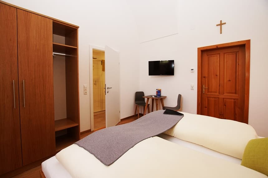 Gästezimmer im Stift Seitenstetten Meierhof