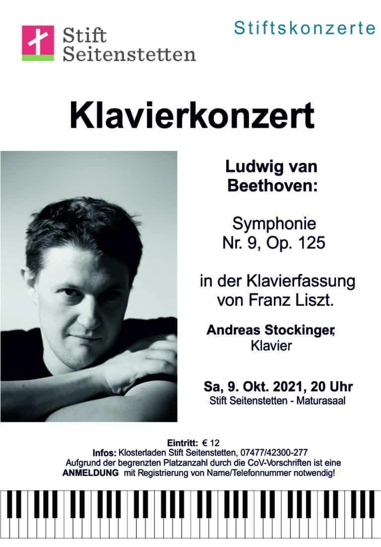 Klavierkonzer Andreas Stockinger